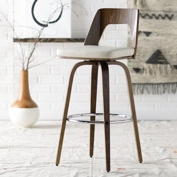 Emory 30 Swivel Bar Stool by Langley Street