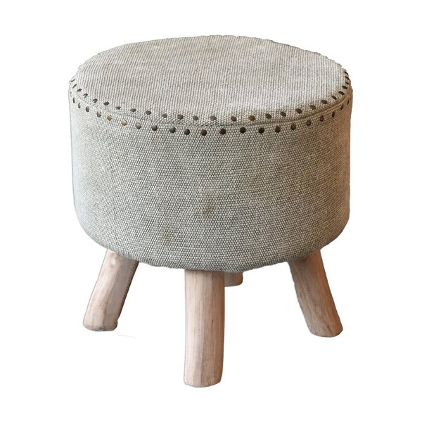 Alyson Accent Stool by Bungalow Rose