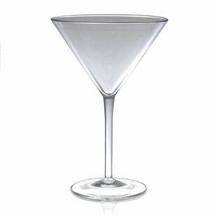 unique martini glasses unusual acrylic martini glass set of 4 glasses youll love wayfair