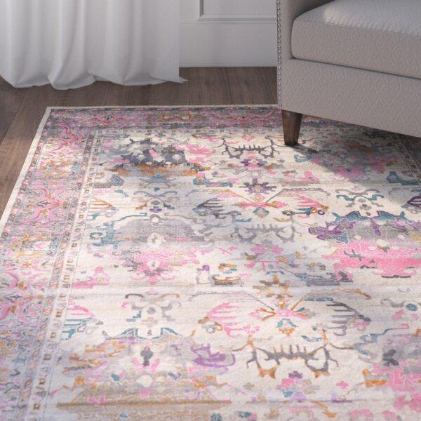 Charlena Pink Area Rug by Mistana