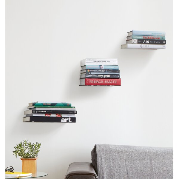 Conceal 3 Pieces Wall Shelf Set (Set of 3) by Umbra