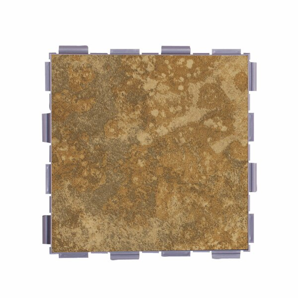 Classic Standard 6 x 6 Porcelain Field Tile in Camel by SnapStone