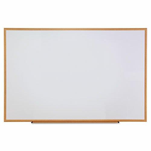 Oak Frame Dry-Erase Wall Mounted Whiteboard by Universal