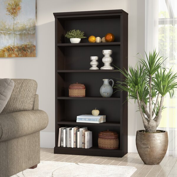 Jaquez Standard Bookcase by Three Posts