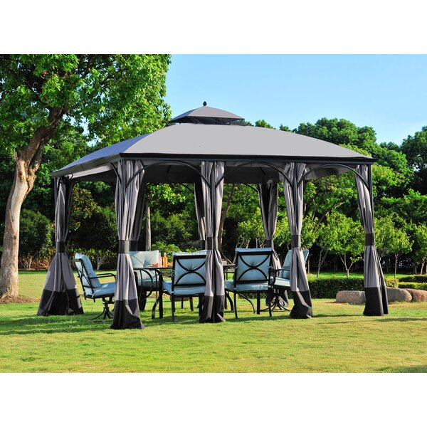 Replacement Canopy (Deluxe) for Somerset Gazebo by Sunjoy