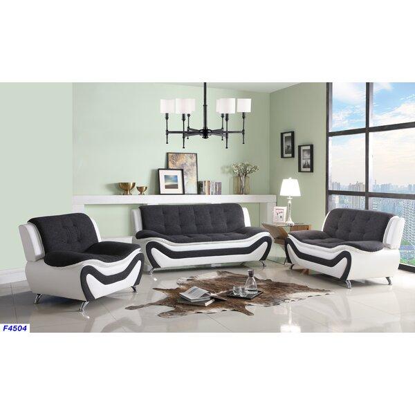 Giesler 3 Piece Living Room Set By Orren Ellis