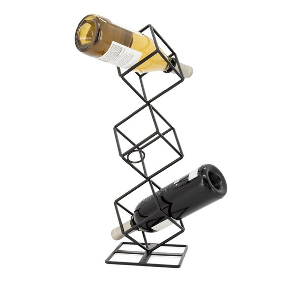 Irena 3 Bottle Tabletop Wine Bottle Rack by Wrought Studio Wrought Studio
