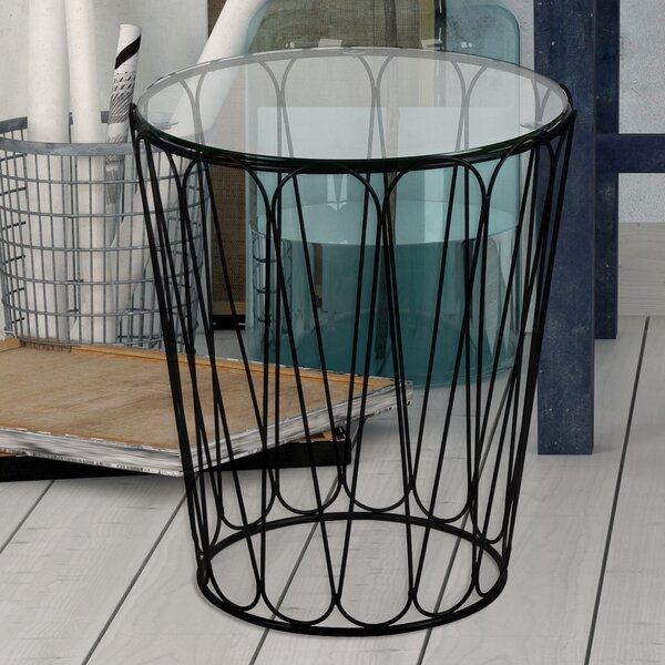 Home Garden End Table by Adeco Trading