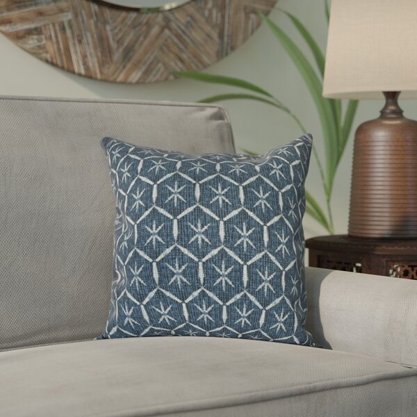 Lassiter Tufted Geometric Outdoor Throw Pillow by Bungalow Rose