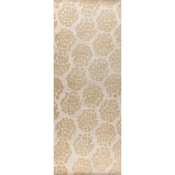 Midland Hand-Woven Beige Area Rug by M.A. Trading
