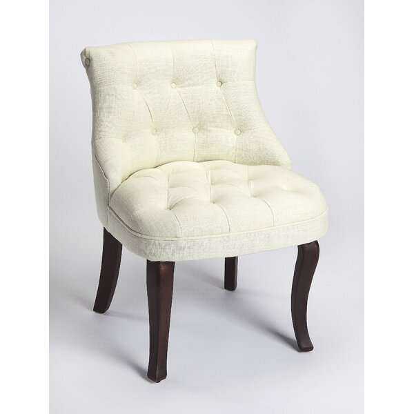 Marsha Slipper Chair by Canora Grey