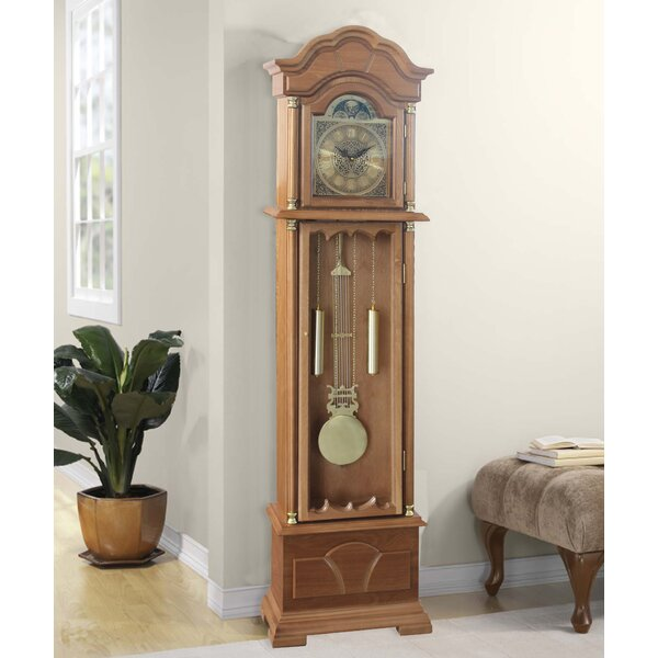 71 Grandfather Clock by Alcott Hill