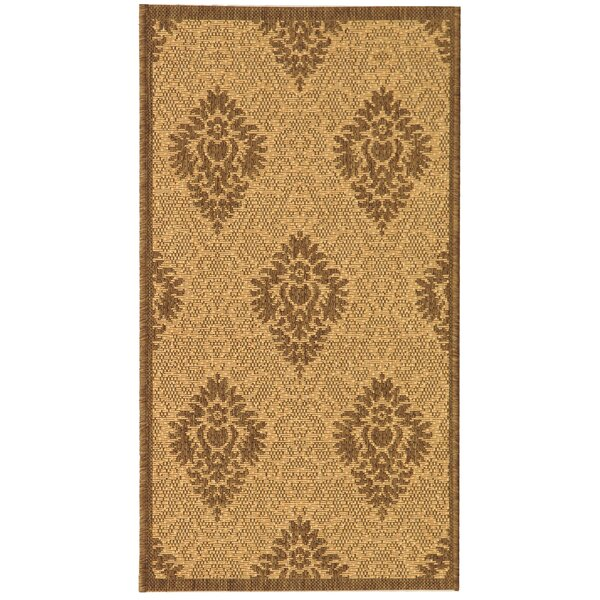 Short Transitional Durable Outdoor Rug by Winston Porter