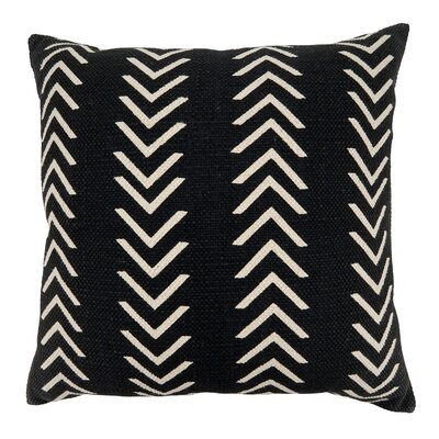 Union Rusticgustel Cotton Geometric 22 Throw Pillow Cover Union Rustic Color Black Dailymail