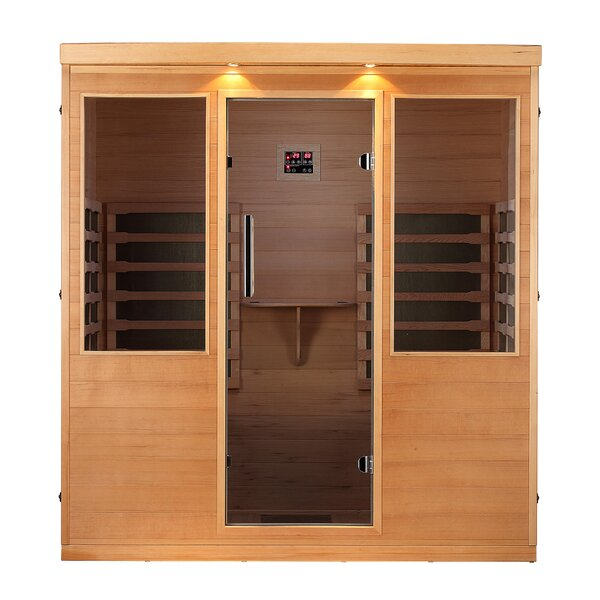 4 Person FAR Infrared Sauna by Canadian Spa Co