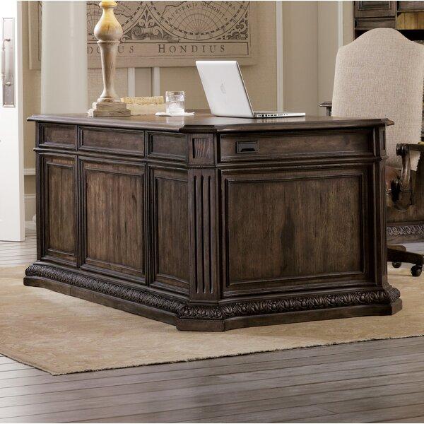 Rhapsody Keyboard Tray Executive Desk by Hooker Furniture