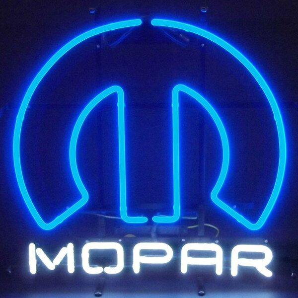 Car & Motorcycles Mopar Omega Neon Sign by Neonetics