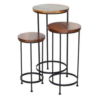 3 Piece Nesting Tables by Peak Season Inc. SKU:DD152592 Price Compare