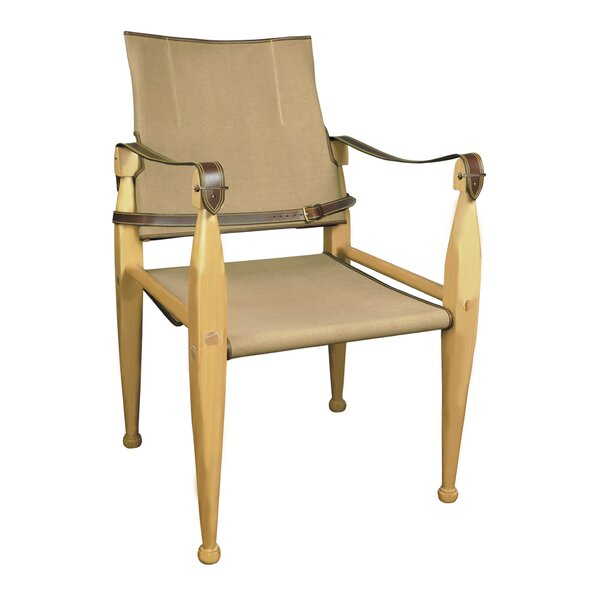 Colombo Canvas Armchair By Millwood Pines