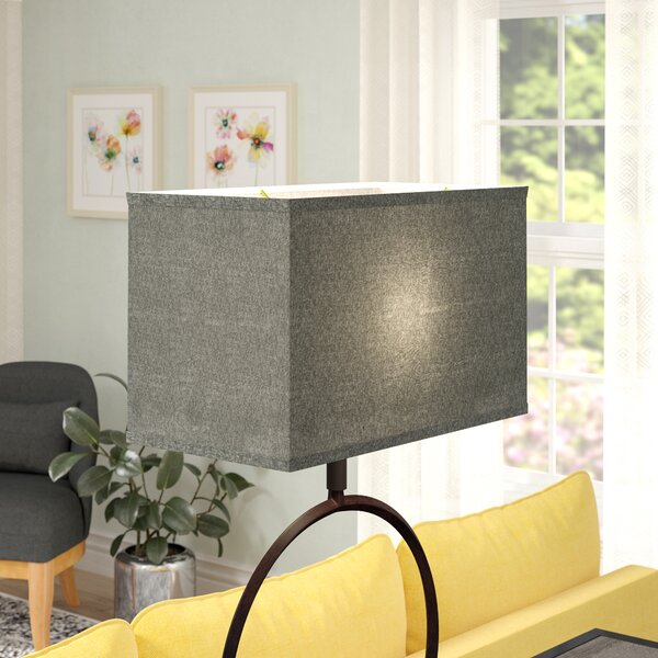 Transitional 16 Linen Rectangular Lamp Shade by Latitude Run