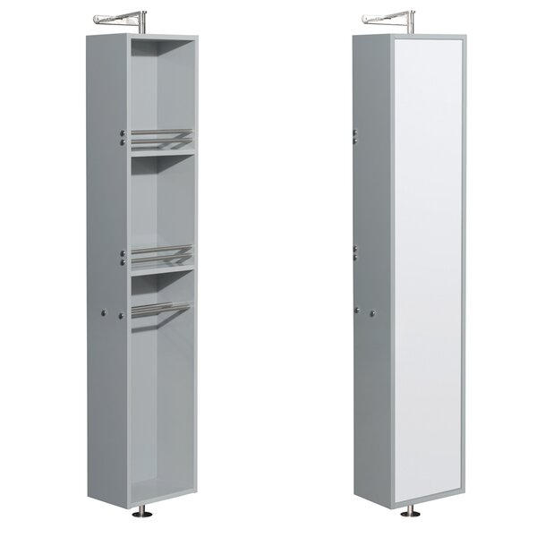 Amare 13.75 W x 73 H Wall Mounted Cabinet by Wyndham Collection