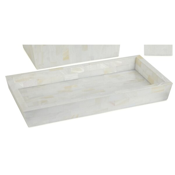 Ermine Perfume Accent Accent Tray by Oggetti