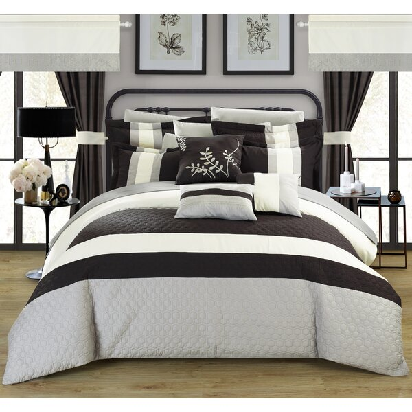 Covington 24 Piece Comforter Set by Chic Home
