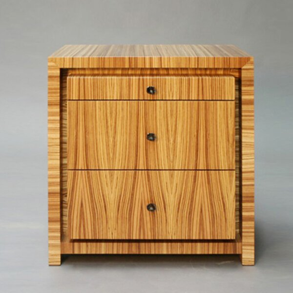 3-Drawer Vertical Filing Cabinet by Serge De Troyer Collection