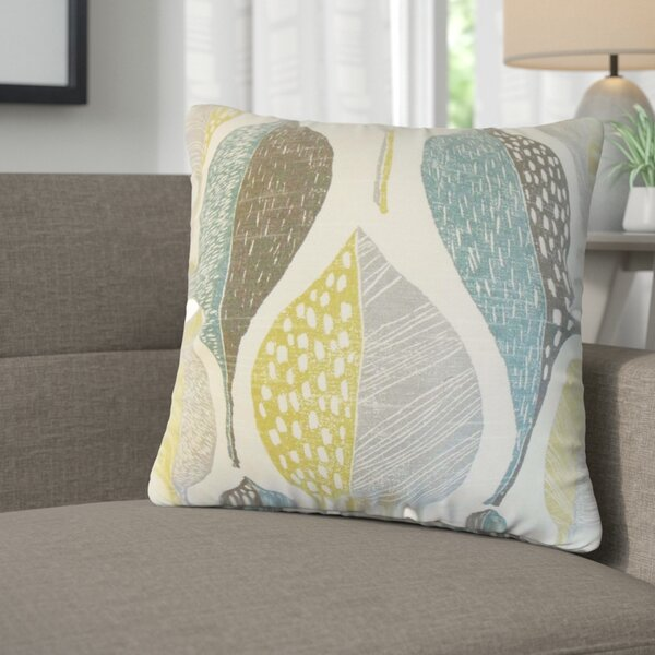 Sutton Geometric Cotton Throw Pillow (Set of 2) by Corrigan Studio