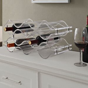 Reserve 10 Bottle Tabletop Wine Rack by Modway