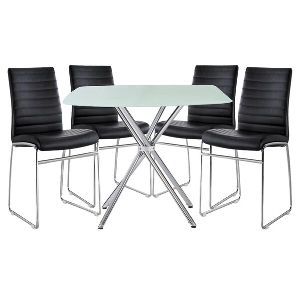Diemer 5 Piece Dining Set by Orren Ellis Orren Ellis