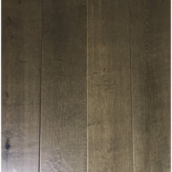 7.5 Engineered Maple Hardwood Flooring in Ash Gray by Floressence Surfaces