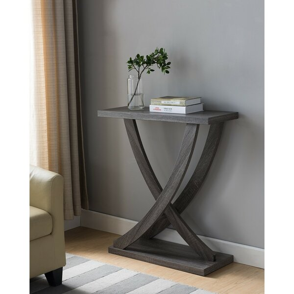 Reviews Taub Wooden Console Table by Orren Ellis