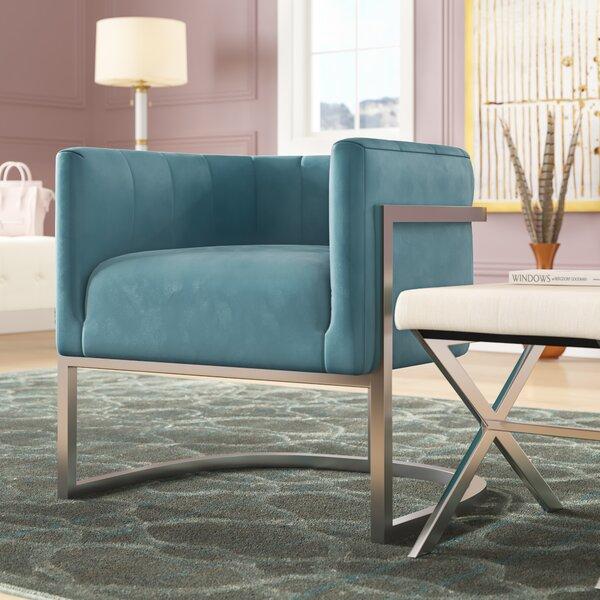 Estevao Barrel Chair by Willa Arlo Interiors
