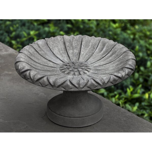 Lotus Birdbath, Small by Campania International