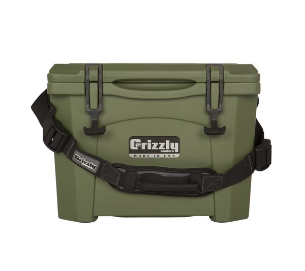15 Qt. Rotomolded Cooler by Grizzly Coolers