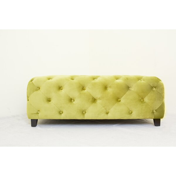 Kincer Upholstered Bench by Everly Quinn