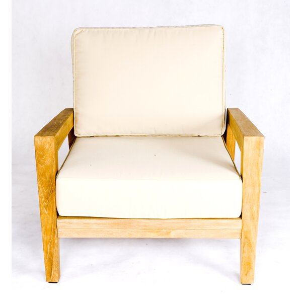 Teak Stafford Arm chair by Les Jardins
