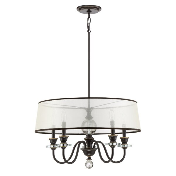 Seagraves 5 - Light Candle Style Drum Chandelier By Darby Home Co
