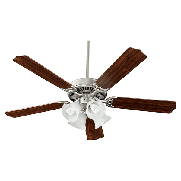 52 Staffordshire 5 Blade Ceiling Fan  by Three Posts
