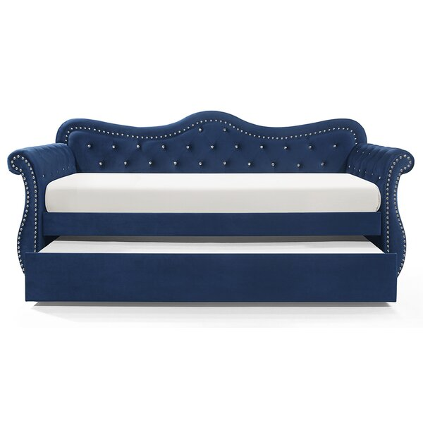 Upper Shockerwick Twin Daybed with Trundle by Rosdorf Park