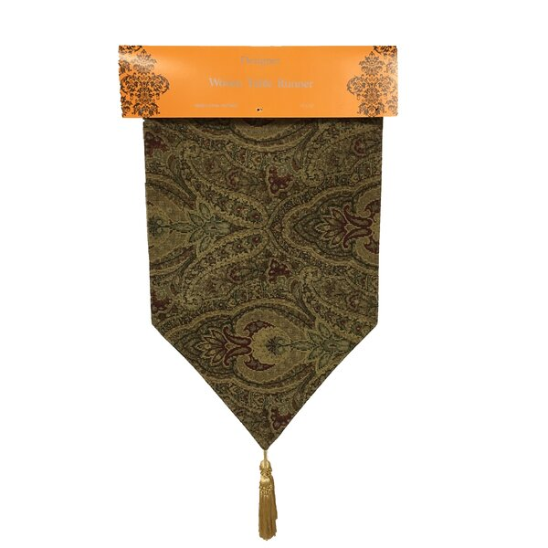 Jacquard Tapestry Runner by Textiles Plus Inc.