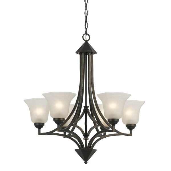 Marci 6-Light Shaded Chandelier by Darby Home Co