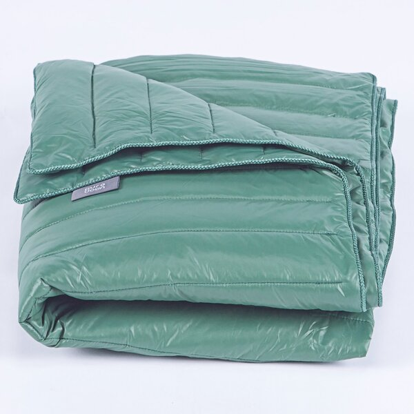 Waterproof Goose Down Indoor and Outdoor Camping Blanket by Puredown