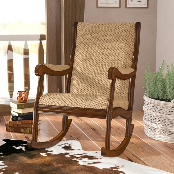 Berg Rocking Chair by Loon Peak