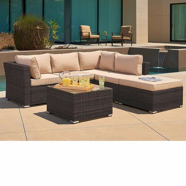 4 Piece Sofa Seating Group with Cushions by SUNCROWN