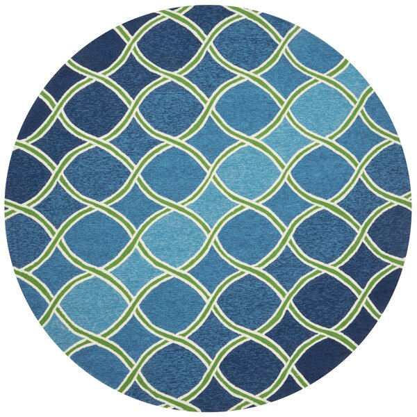 Danko Blue Indoor/Outdoor Area Rug by Wrought Studio