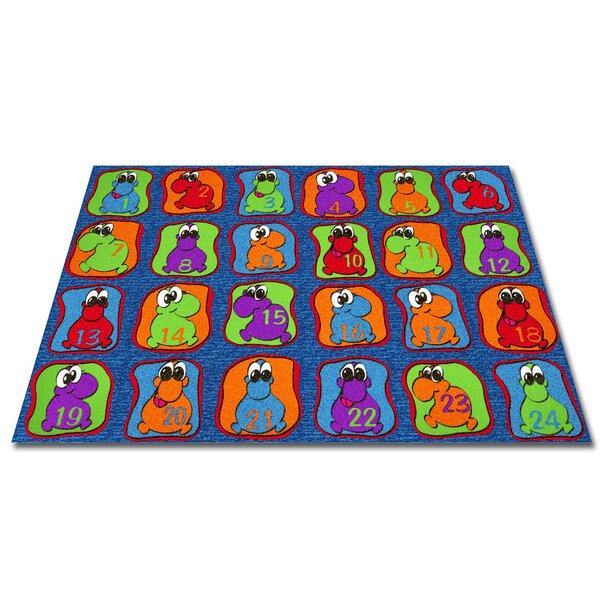 Cute Little Creatures Seating Kids Rug by Kid Carpet