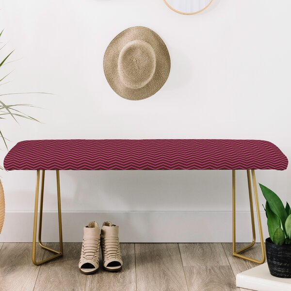 Caroline Upholstery Bench by East Urban Home