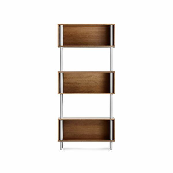 Read Reviews Chicago Geometric Bookcase